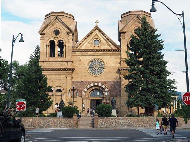 Basílica de San Francisco de Asís en Santa Fe