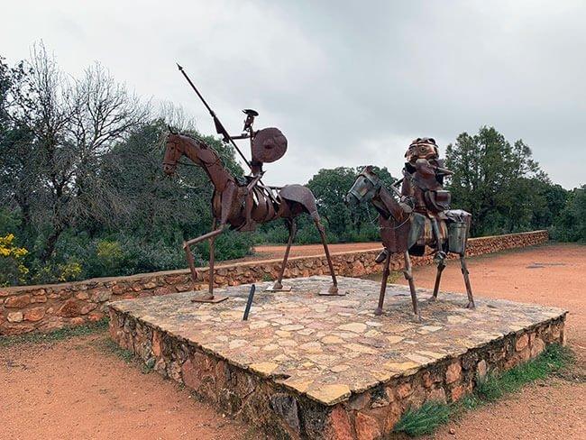 Don Quijote de la Mancha y Sancho Panza