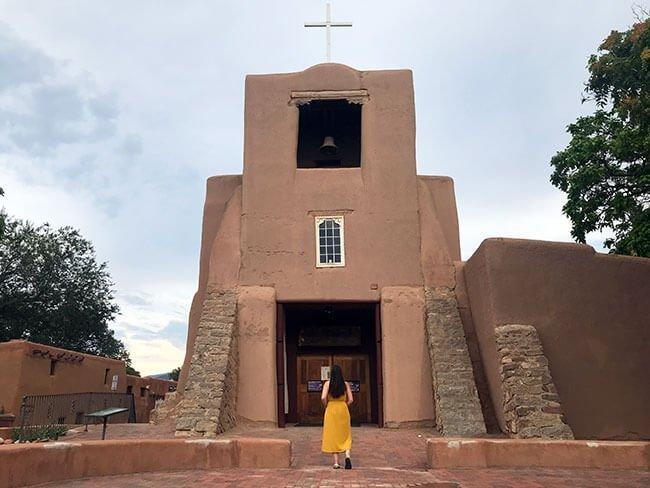 La iglesia más antigua de Estados Unidos, la Misión de San Miguel en Santa Fe