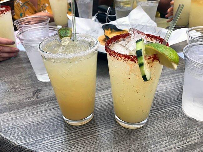 Nuestros cocktails en Santa Fe