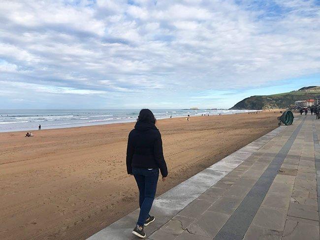 Playa de Zarautz - País Vasco