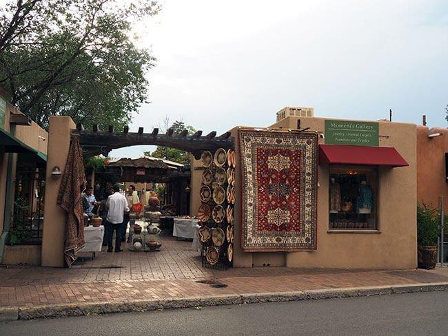 Uno de los diferentes mercados de Santa Fe