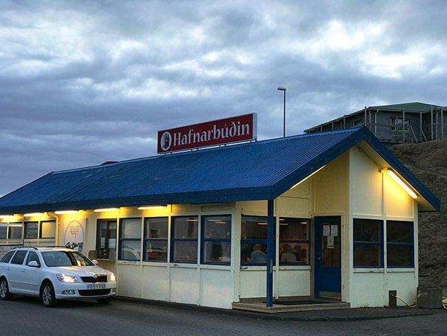 Restaurante en Höfn - Islandia