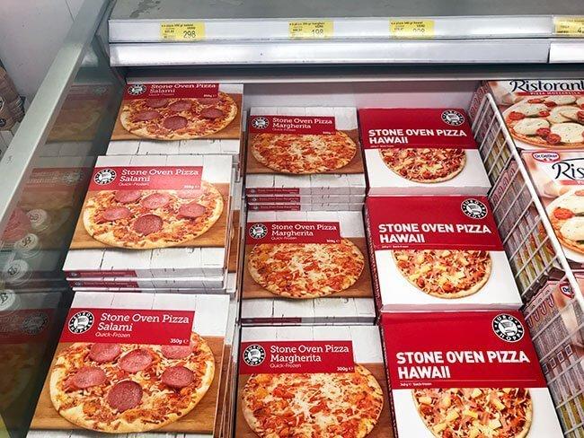 Pizza por 2,12 euros en Islandia, económica para las cenas