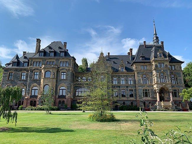 Schloss Lieser en el Valle del Mosela, ahora reconvertido en hotel