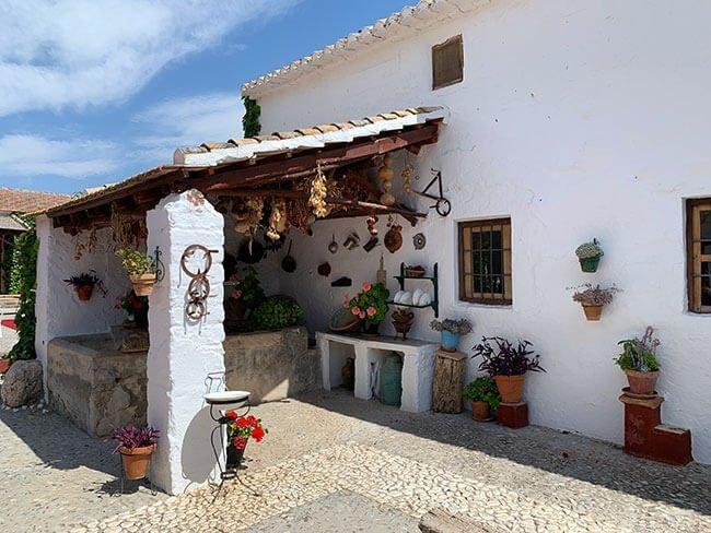 Case de la familia de Federico García Lorca en Valderrubio (Granada)