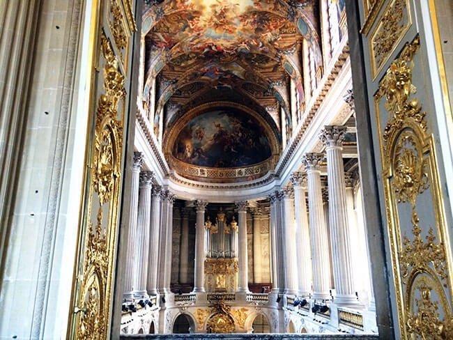 Interior del Palacio de Versalles