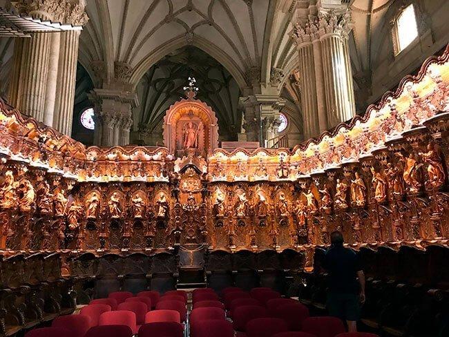 El espectacular coro de la Catedral