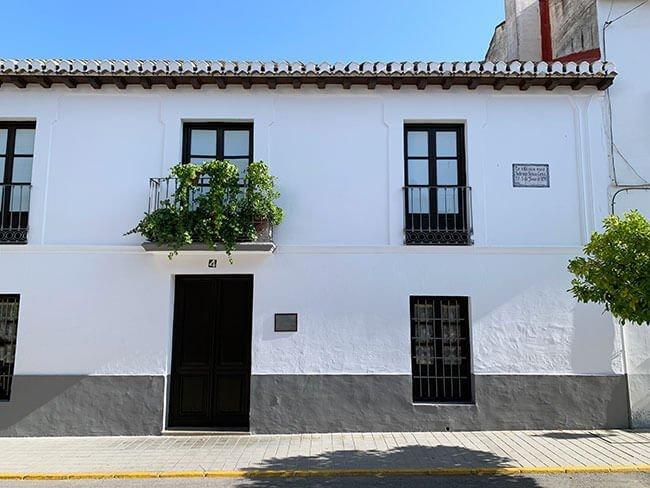 Casa donde nació Federico García Lorca en Fuente Vaqueros (Granada)
