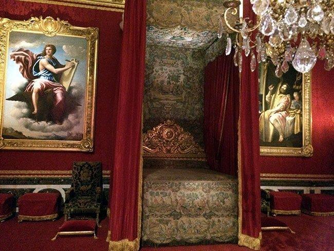 Habitación del Palacio de Versalles