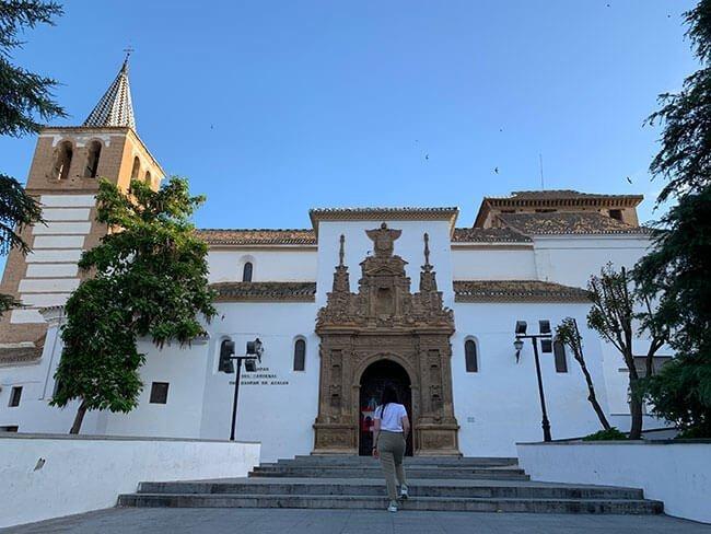 La iglesia de Santiago en Guadix