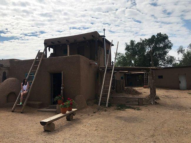 Casa de Taos pueblo