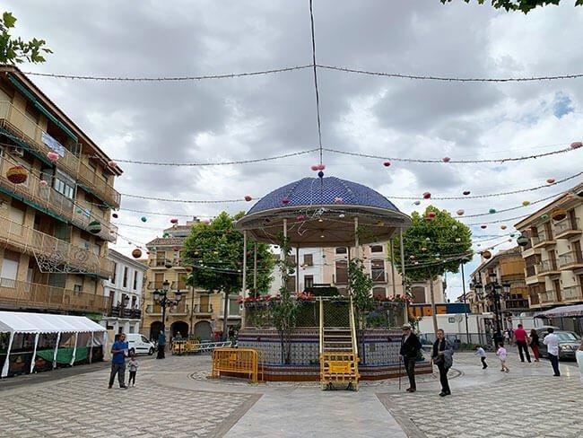 Plaza Mayor de Huéscar