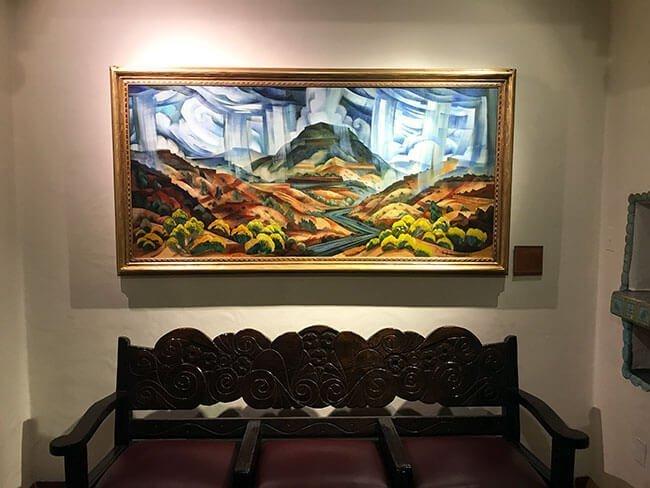 Obras de arte en el hotel
