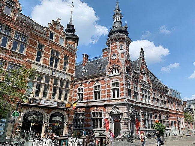 Calles de Lovaina - Bélgica