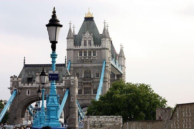 El puente de la Torre es el puente más conocido de Londres