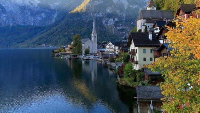 Hallstatt otro de los imprescindibles de Austria