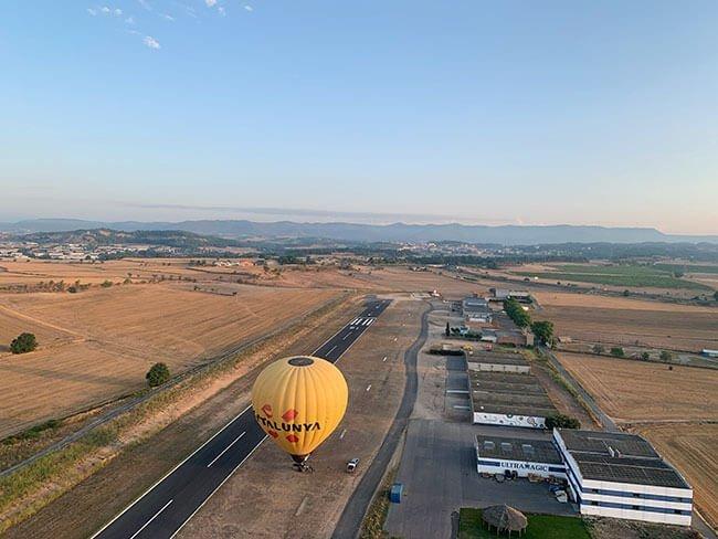 Volar en globo es una experiencia que recomendamos mucho