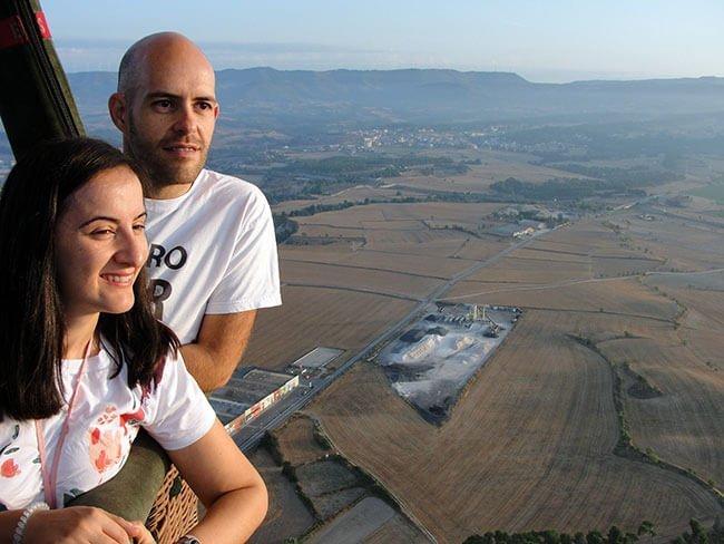 Volar en globo es una experiencia increíble, con unas vistas magnificas