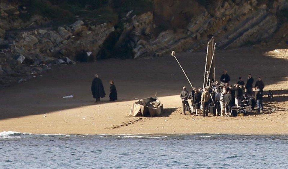Juego de Tronos en la playa de Muriola