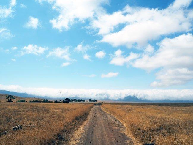 Los paisajes de la caldera del Ngorongoro son sencillamente impresionantes