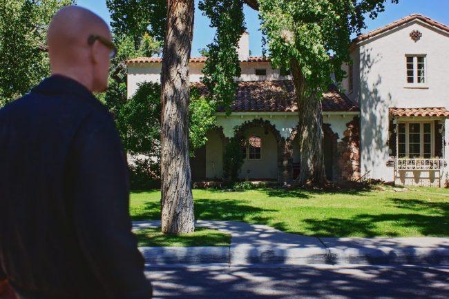 Escena de Breaking Bad en la casa de Jesse Pinkman