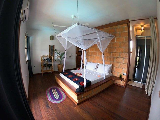 Nuestro hotel en Nungwi (Zanzibar)