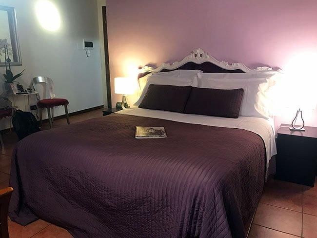 Nuestra habitación en Verona