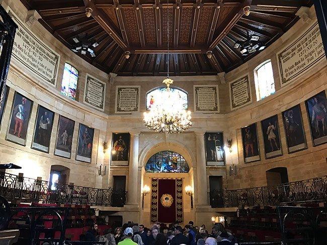 Interior de la Casa de Juntas de Gernika