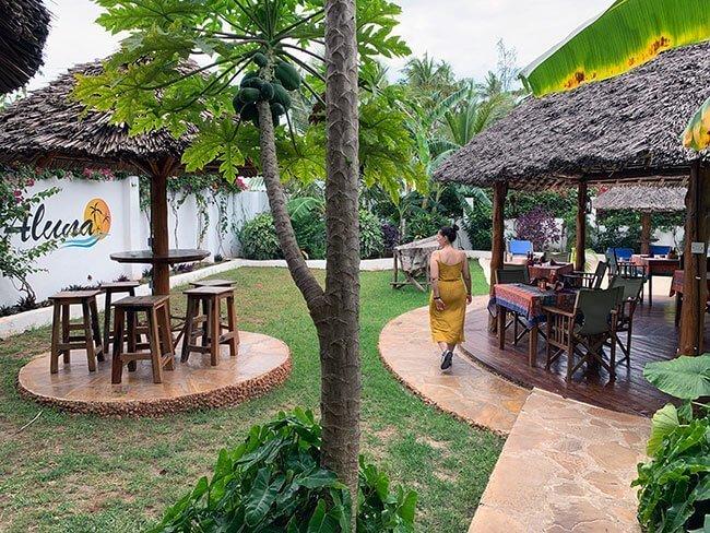 Nuestro hotel en Nungwi