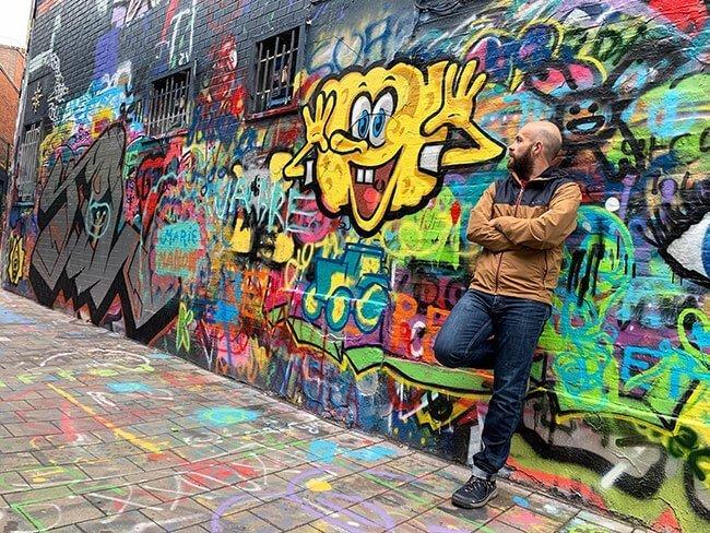 Callejón de los Grafitis de Gante