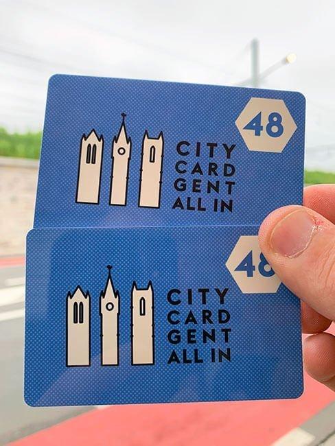 Las City Card Gent para moverte por toda la ciudad de Gante