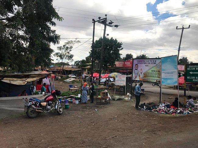Calles de la ciudad de Arusha en Tanzania