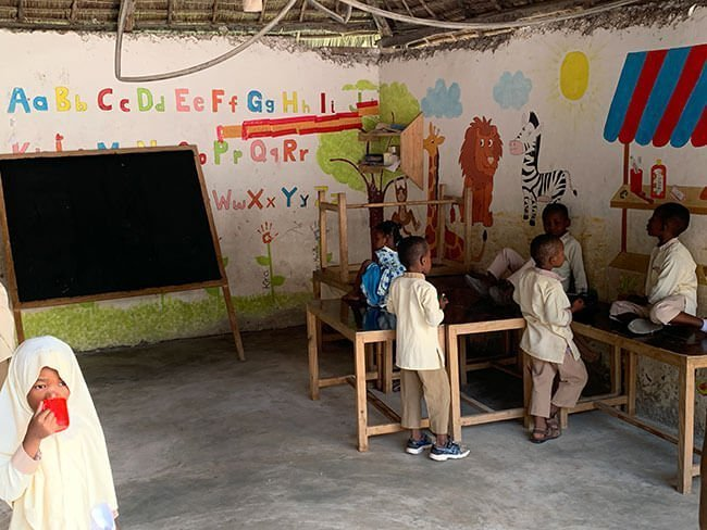 La School of Hope en Nungwi, Zanzíbar