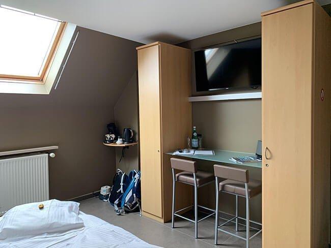 La habitación del hotel B&B Su'ro en Gante