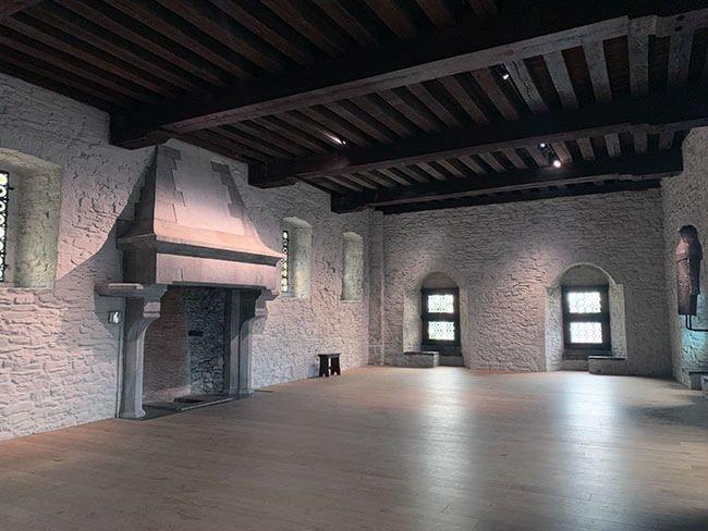 Interior del Castillo Het Gravensteen