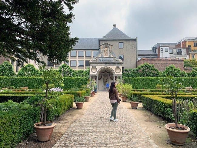 Jardines de la casa de Rubens en Amberes