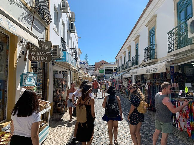 Paseando por los mercados de la Albufeira, Portugal