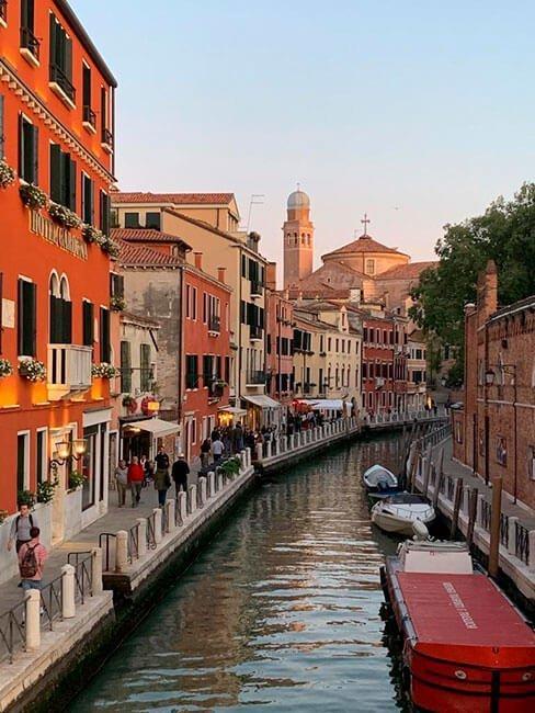 Los canales de Venecia, la cara más reconocible de la ciudad Italiana
