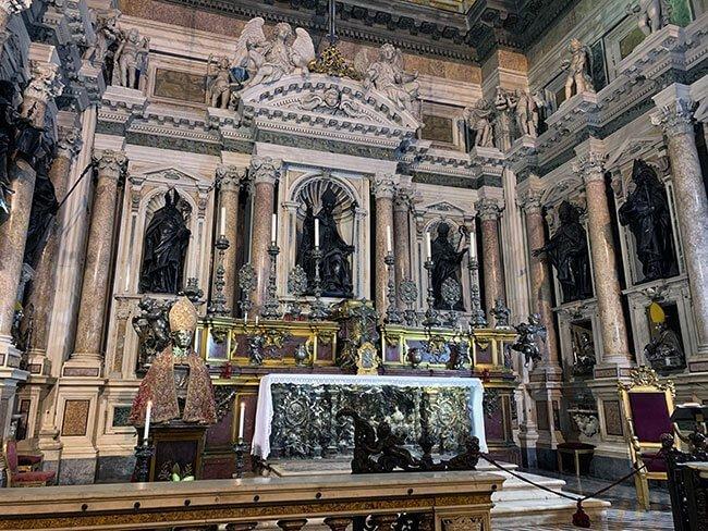 El tesoro de la catedral de Nápoles
