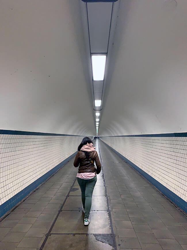 El Túnel de Santa Ana de Amberes