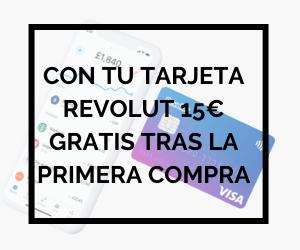 15€ gratis en tu tarjeta Revolut