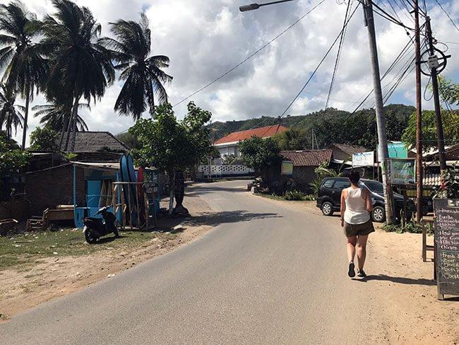 Las calles de Kuta Lombok