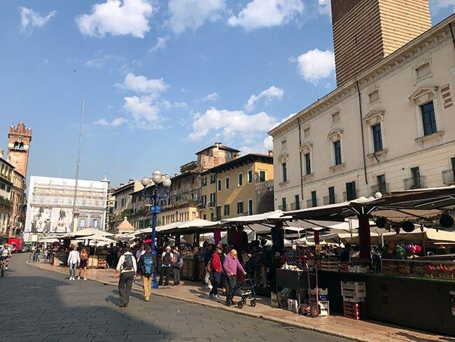 Piazza Erbe de Verona