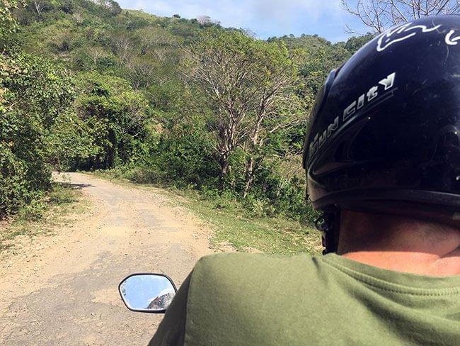 Moto en Lombok