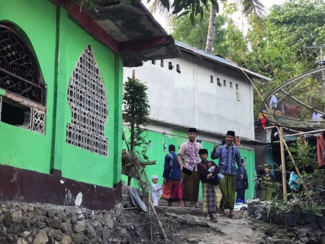 La escuela que gestiona ONG Balanced World en Lombok