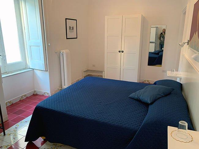 Nuestra habitación en el Montedidio Unoè B&B