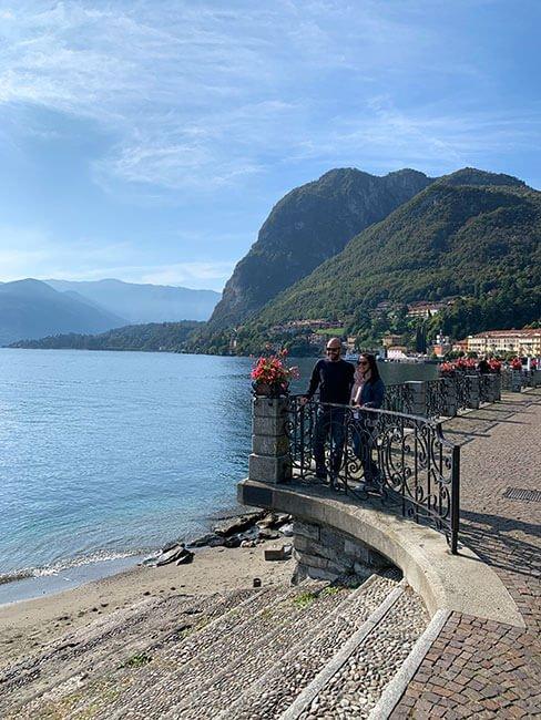 Lago di Como desde Menaggio