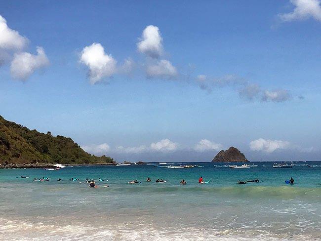 Playa de Selong Blanak en Lombok