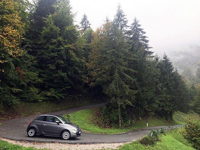 Las carreteras de Eslovenia